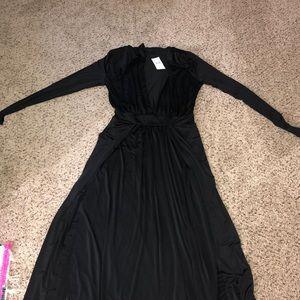 Fashion Nova Spree Dress - Black